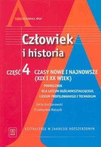 Człowiek i historia Część 4 Podręcznik Czasy nowe i najnowsze