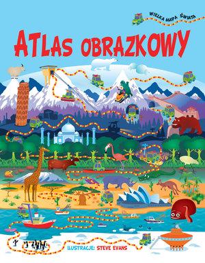 Atlas obrazkowy + wielka mapa świata
