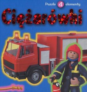 Ciężarówki. Książka z puzzlami